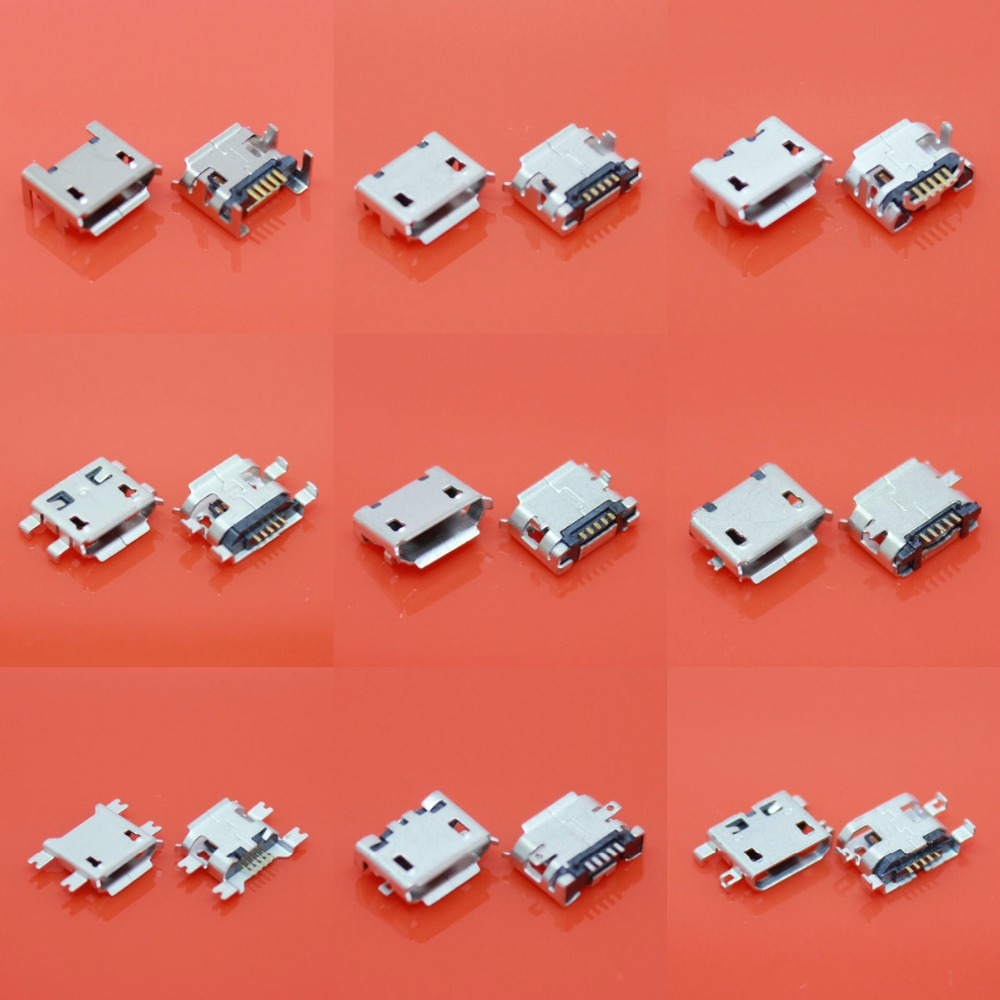 9Models,total Micro USB 5Pin jack tail sockect, Micro Usb Connector port sockect for samsung Lenovo Huawei ZTE HTC ect 100pcs 10pcs each for 10 kind micro usb 5pin jack tail socket micro usb connector port sockect for samsung lenovo huawei zte htc