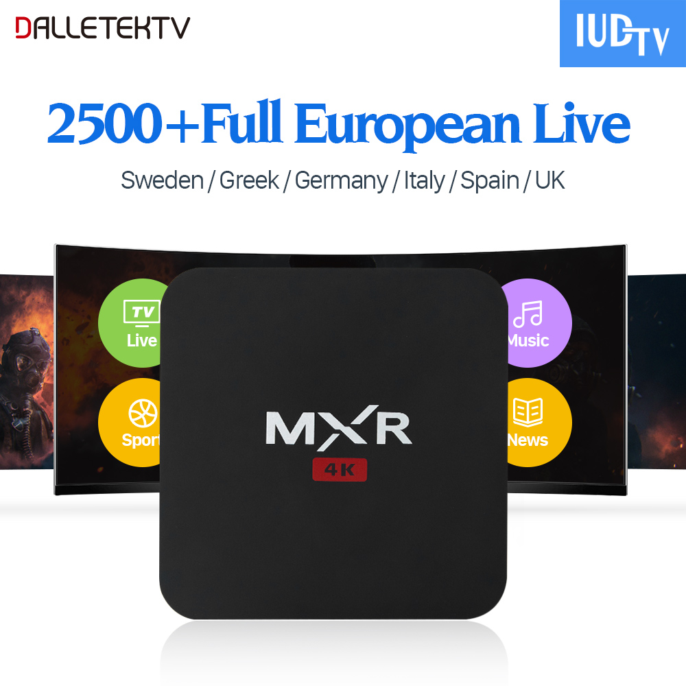 IPTV Europe Sweden Android 6.0 TV BOX Spain Italy UK IPTV Europe Sweden IUDTV Code IPTV Subscription French Arabic IPTV Top Box dalletektv mag250 linux iptv set top box europe iptv subscription arabic french uk italy usa germany sweden streaming box