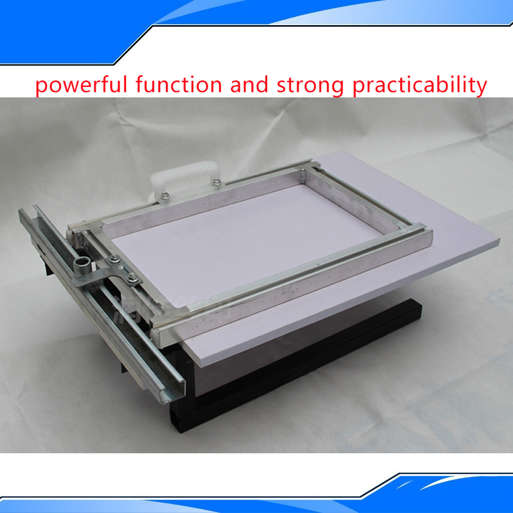 New Design Printing Treadmill Simple Printing Machine Run Screen Press Platform Water-based And Oliness DIY T-shirt Equipment