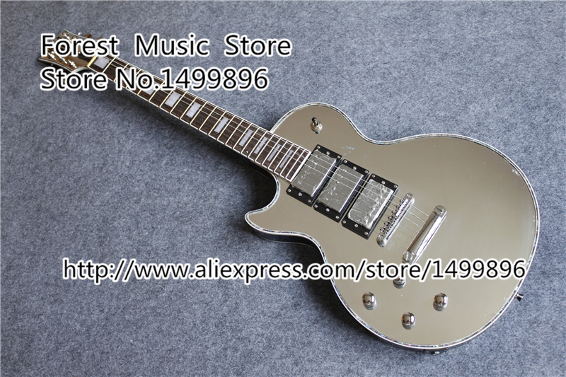 Custom Shop Mirror Finish LP Guitar Electric Left Handed China Custom Guitar Free Shipping china electric guitar firehawk oem shop wholesale custom shop electric guitar rotting wood grain