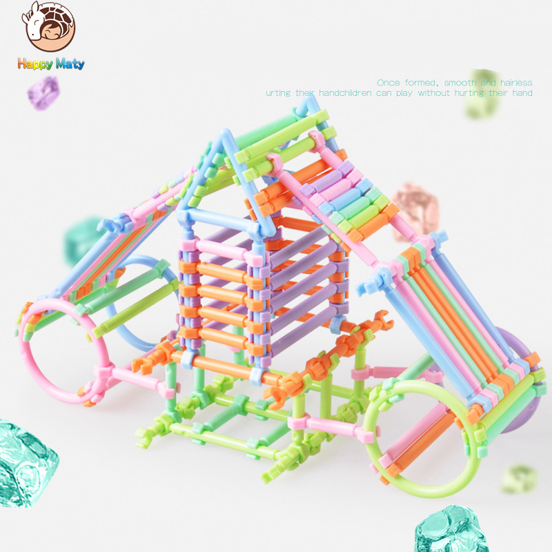Top Christmas Gifts 2019 For Kids: 2019 Plastic Intelligence Sticks Educational Building