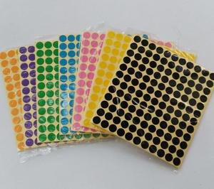 3960stickers pr lot 13mm Circle Round Colorful Coded Label Dot Sticker Diary Vintage European Wedding