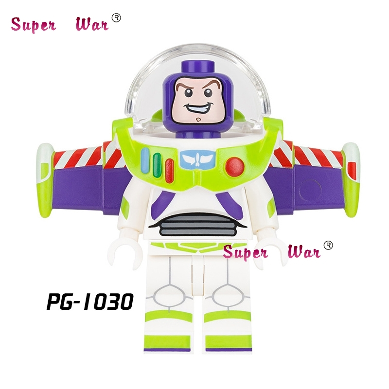 50pcs Star wars super heroes model Buzz Lightyear toy story building block for house hobby games children toys