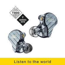 AUDIOSENSE T800 نولز 8 سائق المحرك المتوازن HiFi IEMs مع كابل MMCX قابل للفصل ثلاثية الأبعاد الطباعة الراتنج قذيفة