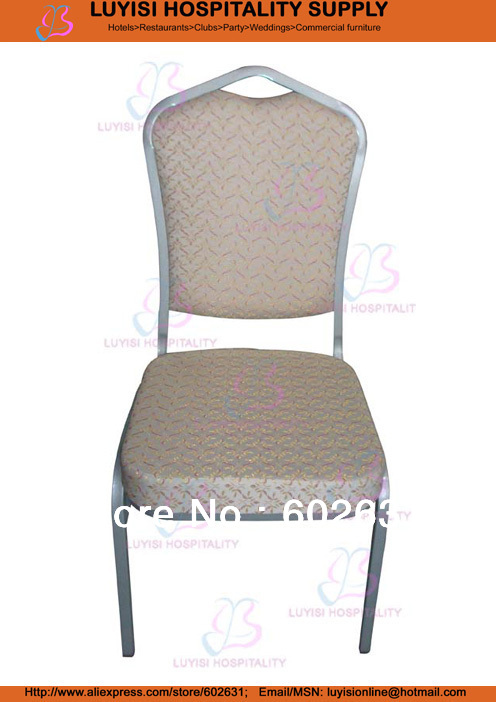 Painted Iron Frame Stacking Banquet Chair LUYISI1030S
