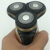 Electric Epilator 3 In 1 Men Electric Shaver 3D Waterproof Rechargeable Shaver Shaving Razor With