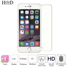 2PCS Premium Tempered Glass Screen Protector For iPhone Apple 4 4S 5 5S 5C SE 6 6S 6plus 7 7 Plus Protective Film Case