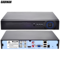 GADINAN Mini Home CCTV AHD 4CH AHD NH 1080N DVR 4 Channel Standalone CCTV DVR HDMI