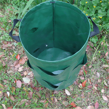 1PCs Flowers Strawberry Vegetable Cultivation Planting Growing Bags Barrels For Family Garden Supplies Plastic 45*54cm