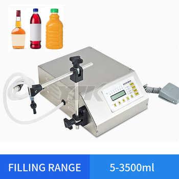 YTK 5-3500ml Water Softdrink Liquid Filling Machine Digital Control GFK160 Water Oil Perfume Milk Small Bottle Filler - DISCOUNT ITEM  40% OFF All Category