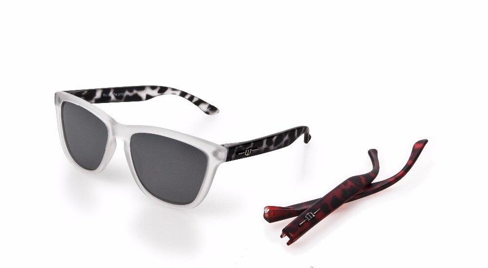 Winszenith 109 Moda Occhiali Da Sole Unisex Lenti UV400 Proteggere Gli Occhi Delle Donne nero + Rosso Embricata Occhiali