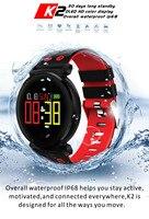 Original K2 Smart Bracelet Watch Blood Pressure Heart Rate Monitor Blood oxygen detection Waterproof Smart Band for smart phone