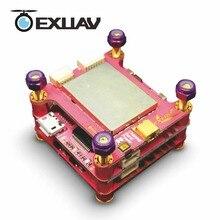EXUAV Flytower Corrida F4, controlador de Vôo board (Omnibus), OSD integrado, 4 em 1 ESC, VTX ajustável (3 camadas design) para Zangão