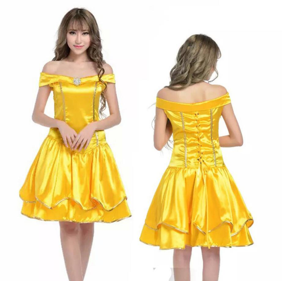 Classic Fairy Tales Snow White Cosplay Costume Adult Princess Snow White Costume Halloween Dresses for Women Fancy Dress