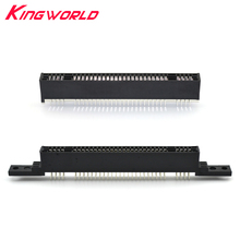10pcs High quality 2.54mm Card Slot 62Pins Interval for Nintendo for SFC for SNES Clone Console