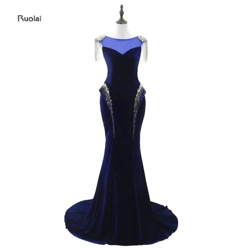 2017 असली नमूना ओ-गर्दन - विशेष अवसरों के लिए ड्रेस