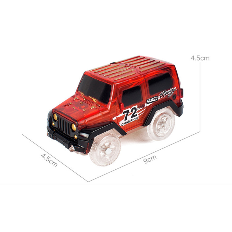 Hot-Sale-Electronics-Car-With-Flashing-Lights-for-Magic-Racing-Glows-Track-Set-Educational-Toys-For-Children-Boys-Birthday-Gift-2