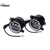 Car Part 2x LED Fog Driving Lights 12V 30W Front Bumper Lamp