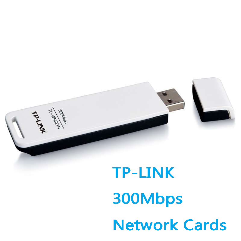 TP LINK TL WN821N USB Wifi adapter 300Mbps wireless network card WEP WIFI  Adapter IEEE 802 11b/g/n, WEP, WPA/WPA2 Support QSS-in Network Cards from
