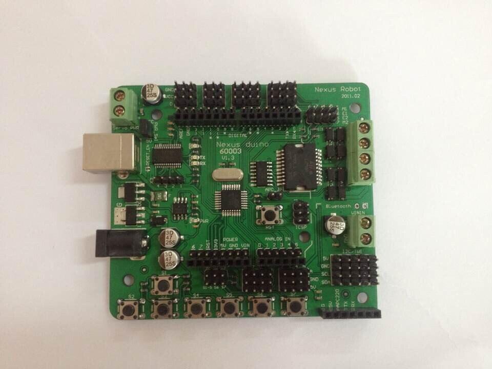 Arduino Atmega328 Microcontroller with DC Motor Driver 22002 microcontroller