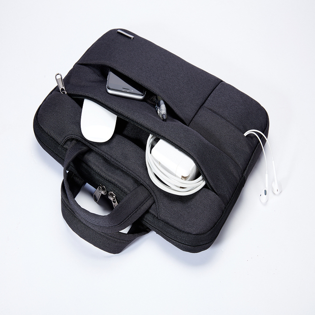 KALIDI 노트북 소매 핸드백 방수 노트북 케이스 가방 맥북 에어 11 13 13 프로 15 망막 표면 프로 노트북 가방 15.6