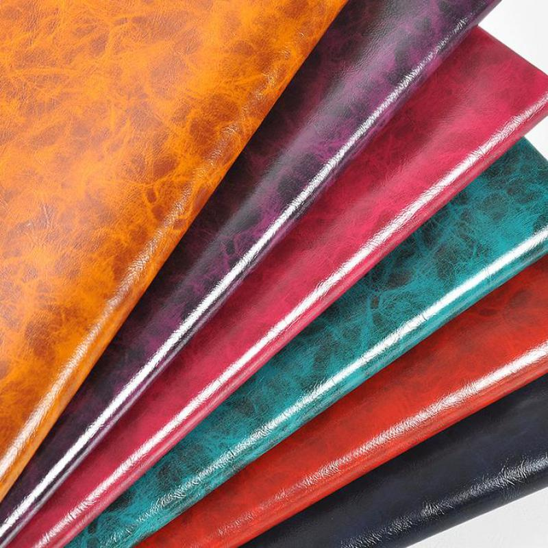 Oil Pu Imitation Leather Material For Bag Shoes Furniture Thick Artificial  Leather Fabric Textiles Leatherette Tecido fded2b6acf42