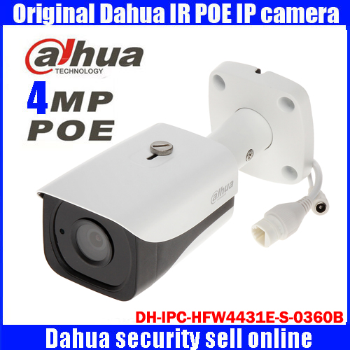 DH-IPC-HFW4431E-S-0360B Dahua original 4MP Bullet network camera night vision infrared security camera IPC-HFW4431E-S-0360B dahua dh ipc hfw4421sp 0360b