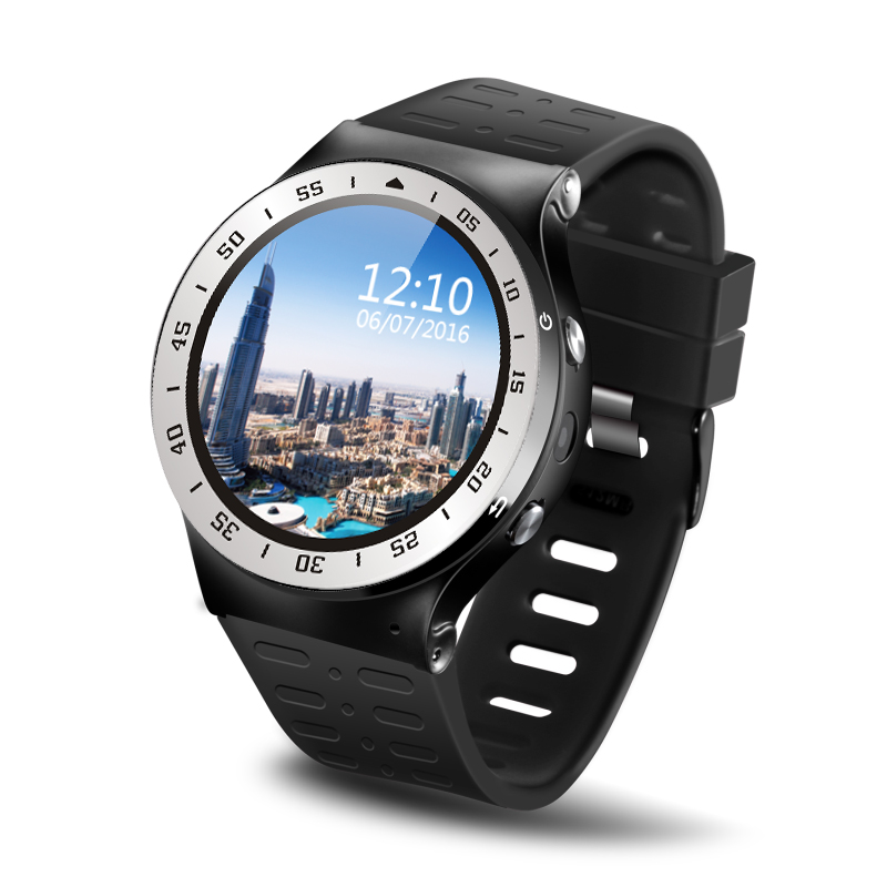 Watch 3G-Talk Android5.1  Smart Watch Phone with Round Hi-Sensitive Touch Screen Supporting 3G MicroSim WiFi GPS BT4.0 imacwear sparta m7 1 54 inch touch screen 3g smart watch phone ip67