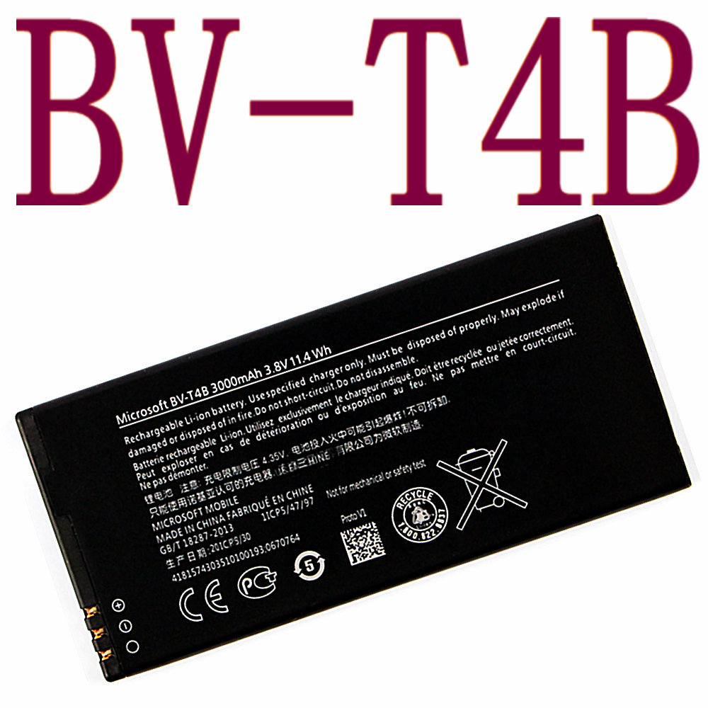 3000mah Bv-t4b For Nokia Lumia 640xl Rm-1096 Rm-1062 Rm-1063 Rm-1064 Rm-1066 Lumia 640 Xl Smart High Quality Replacement Battery Outstanding Features