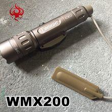 Night Evolution Estilo L 3 Introspecção WMX200 Luz Arma Tática Tático Montado lanterna Frete grátis NE 04014
