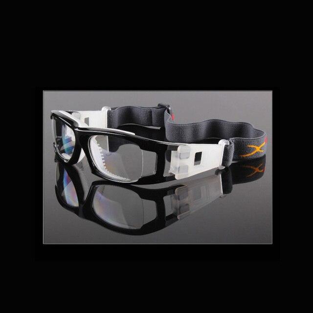 4d6245cad7f Men Basketball Football eye protective Glasses prescription Eyewear Myopia  Frame Soccer Tennis Goggles PC lenses 033