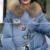 Plus Tamaño de la Chaqueta de Invierno de Las Mujeres Militares de Impresión Parkas Pato Abajo Loose Fit Escudo 4Xl 5Xl Largo Pathchwork Gran Tamaño Abrigo escudo snowear