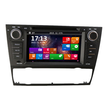 7 Inch Car DVD Player For BMW E90 E91 E92 E93 318 320 325 3 Series With GPS Navigation Multimedia System Stereo Head Unit image
