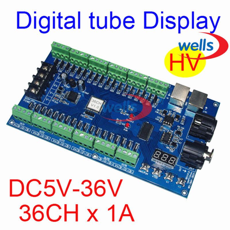 LED DMX512 decoder Voor led lamp RGB Groothandel DMX 3CH RGB Controller, High-power Constante Stroom 700ma led dmx512 decoder voor led lamp rgb groothandel dmx 3ch rgb controller high power constante stroom 700ma