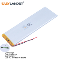 3263156 3 7V 4000mAh Rechargeable Li Polymer Battery For CHUWI Hi8 Hi8 Pro Xv8 3565150 Power