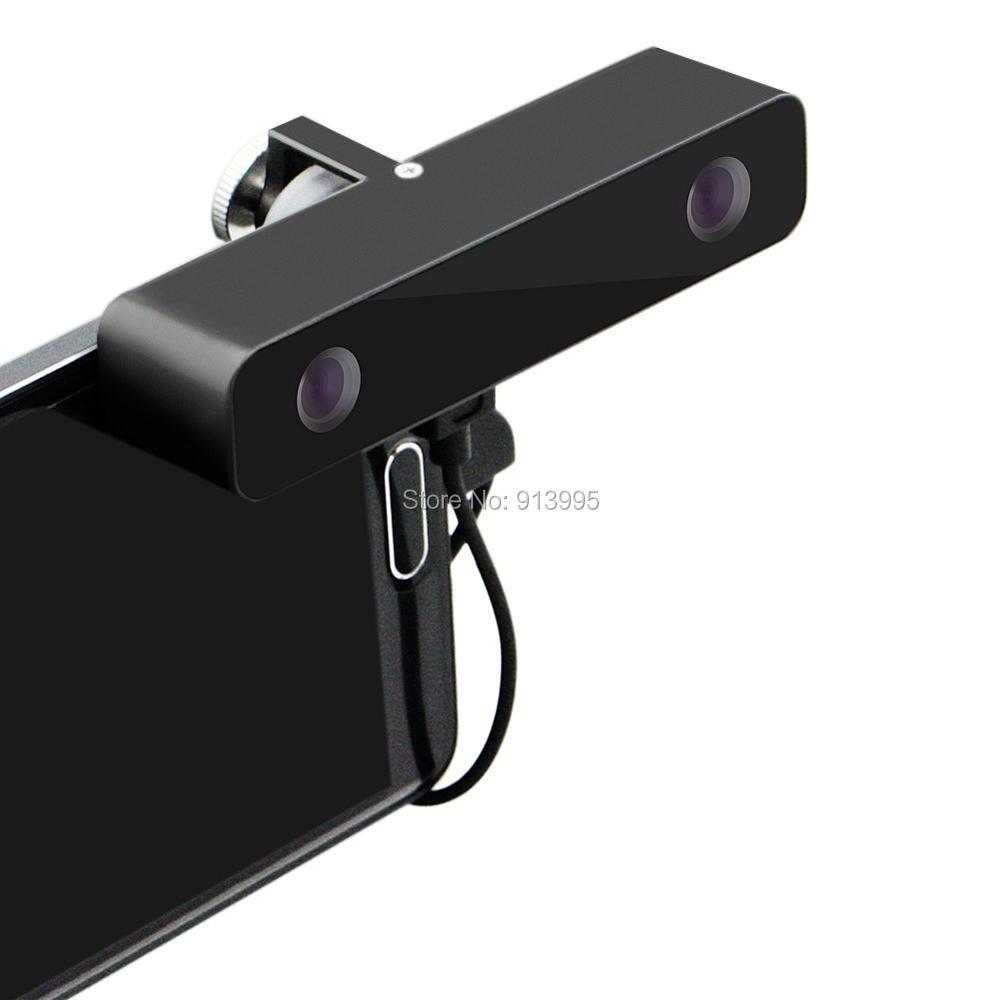 bilder für ELP Micro usb mini HD Usb Kamera 3D VR 3d virtuelle realität Video Kamera Breit Angle100 Grad für Android Samsung s5 s6 Smartphone