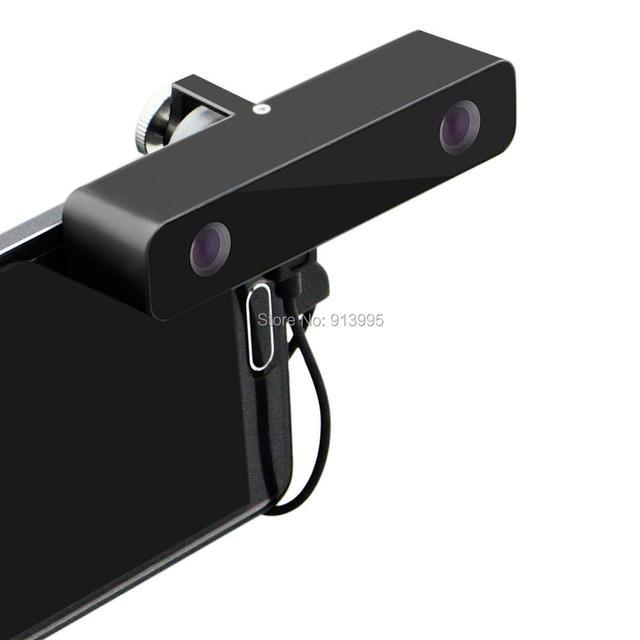 Elp micro usb mini usb câmera hd 3d vr 3d virtual câmera de vídeo grande graus angle100 realidade para android samsung s5 s6 smartphones