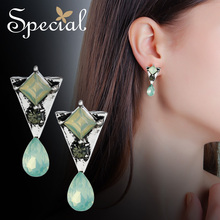 Special Brand sterling S925 silver needle  earrings for woman 2019 new collection S2184E