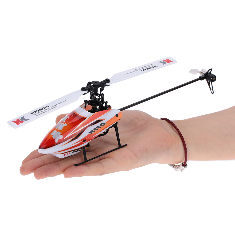 Original XK Blast K110-B 6CH 3D 6G System RC Helicopter Brushless Motor BNF Drone Remote Control Helicopter without Transmitter wltoys xk k100 rtf 6ch 3d 6g system brushless motor remote control helicopter xk falcon k100 rc helicopter
