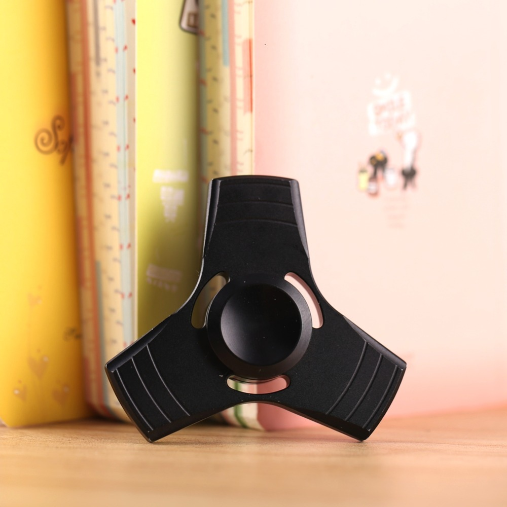 5 Colors Fidget Spinner UFO Tri-spinner Zinc EDC Hand Spinner Aluminum Alloy Fidget Toy Anxiety Stress Adults Kid Metal Spinner