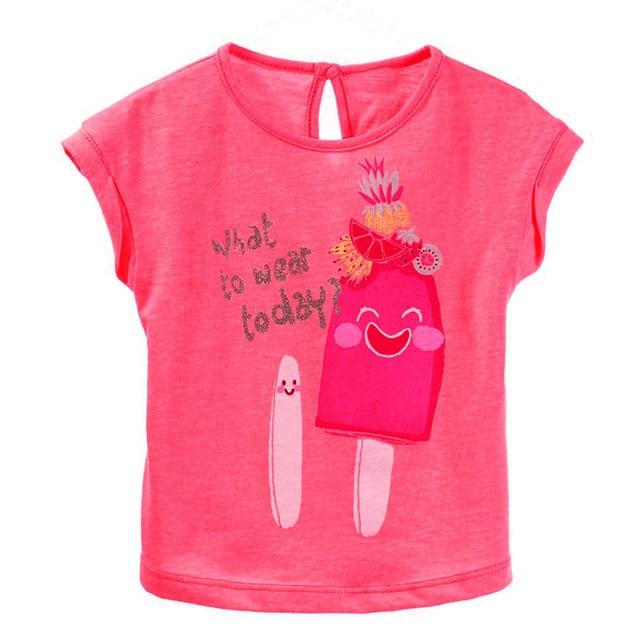 36bd88d96eb1 2016 New Design Summer 18 Months 6T Baby Girls T Shirt Summer Cute ...