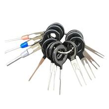 11 قطعة محطة إزالة أداة عدة الأسلاك تجعيد موصل النازع دبوس مفتاح سيارة أداة إصلاح الصفائح المعدنية Stylus