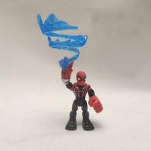 7cm Marvel Avengers Endgame Spiderman Iron Man Action Figure Model Toys Dolls For Kid