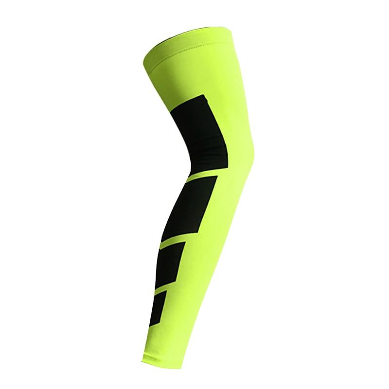 BALIGHT 1Pcs Unisex Compression Sports Protection Sleeve Soccer football Basketball Cycling Leg Sleeve