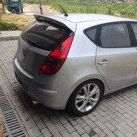 For Hyundai I30 Spoiler ABS Material Car Rear Wing Primer Color Rear Spoiler For Hyundai I30 Spoiler 2008 2013