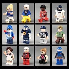Enlighten 12pcs DIY Building Bricks Compatible Ninjago Girls Blocks Mini Figures For Children Educational Toys Gifts