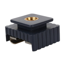 Flash Hot Shoe Mount Adapter of 1/4″ Screw Thread  for Studio Light Stand Tripod ForCanon 580EX II/580EX/550EX Top Quality