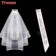 Tronzo Νύφη να είναι σατέν φύλλο Γάμος Βέλος Bachelorette Party Διακόσμηση Νύφη να είναι σατέν φύλλο φύλλο για γαμήλιες ενήλικες εύνοιες
