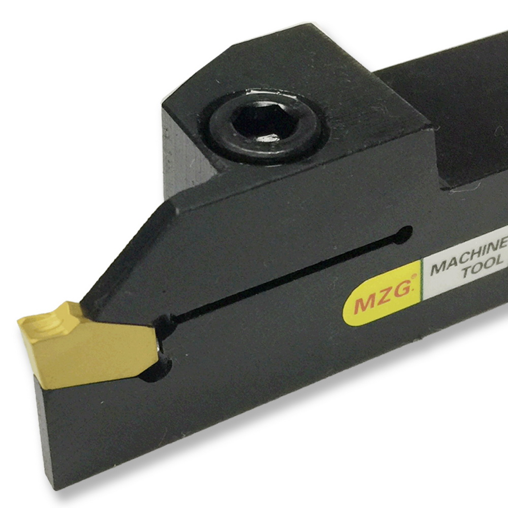 MZG ZQ1616R-2 ZQ2020R-2 Width Grooving CNC Lathe Machining Cutting Toolholder Metal Grooving Blades Parting Cutter Boring Tool