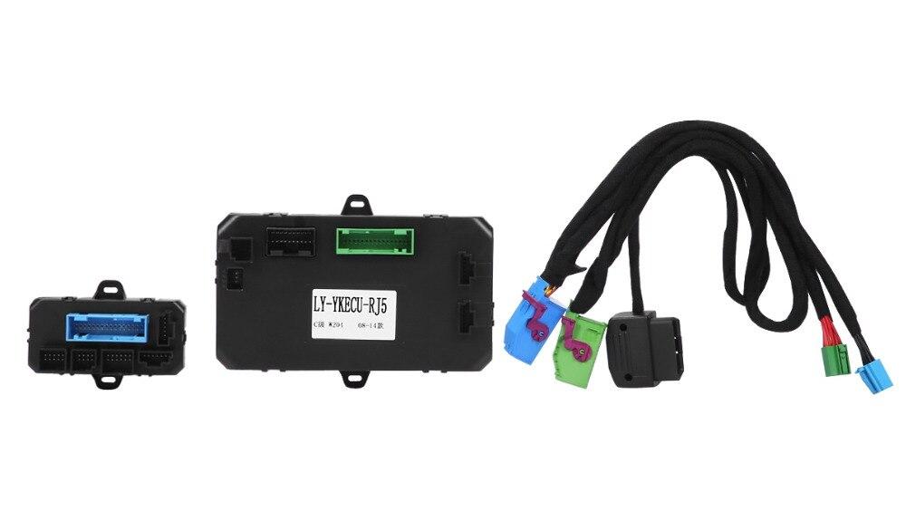 PLUSOBD Manufacturer Sell DC12V Voltage Remote Starter Remote Engine Start System GSM SIM Card Mobile Control For Benz ML GL R